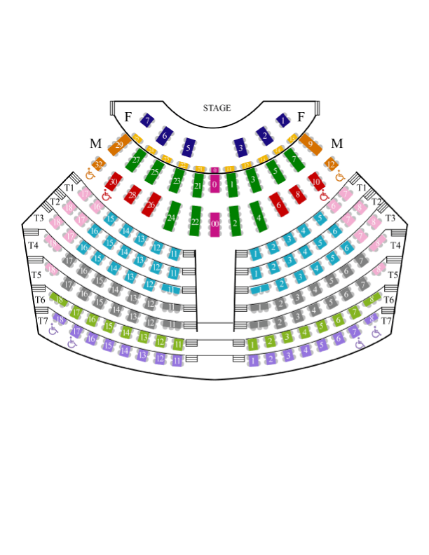 Palace Theater In The Dells Seating Chart